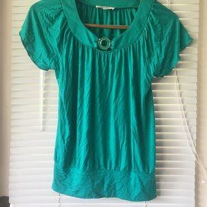 SPENSE Green Blouse